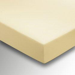 Percale Fitted Sheet Lemon