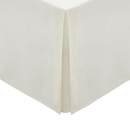 Percale Extra Deep Fitted Sheet Ivory