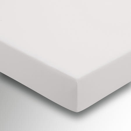 Percale Fitted Sheet Silver