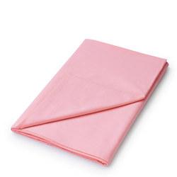 Percale Flat Sheet Dark Pink