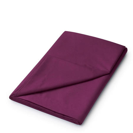 Percale Flat Sheet Purple