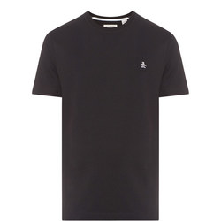 Embroidered Logo T-Shirt Black