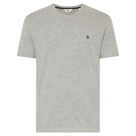 Embroidered Logo T-Shirt Grey