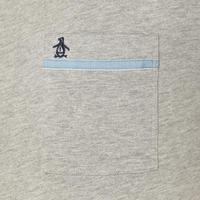 Tape Pocket T-Shirt Grey