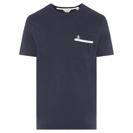 Tape Pocket T-Shirt Navy