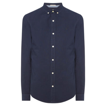 Slim Fit Oxford Shirt Navy