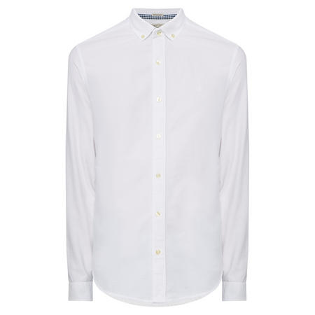 Slim Fit Oxford Shirt White