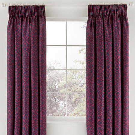 Maloja Curtains Purple