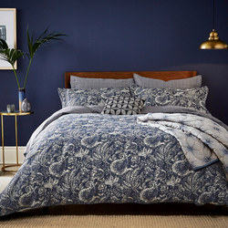 Renata Coordinated Bedding Navy