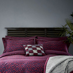 Maloja Oxford Pillowcase Purple