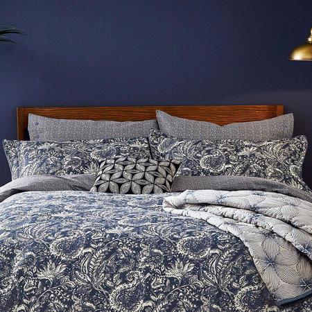Renata Oxford Pillowcase Navy