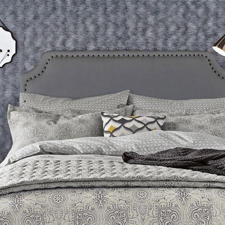 Altana Oxford Pillowcase Grey