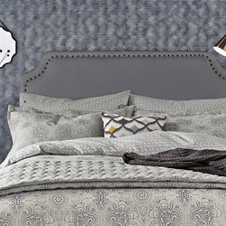 Altana Oxford Pillowcase Grey