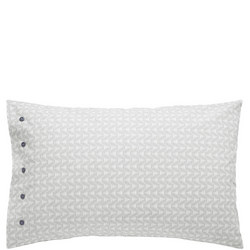 Altana Standard Pillowcase Grey