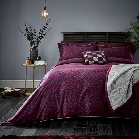 Maloja Coordinated Bedding Set Purple