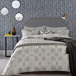 Altana Duvet Cover Grey