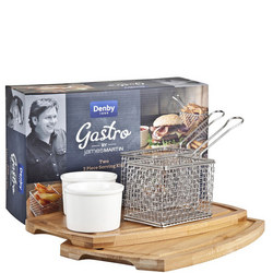 Blue James Martin Gastro Two 3 Piece Serving Kits