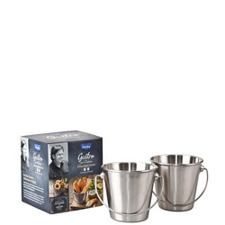 Blue James Martin Gastro 2 Piece Mini Pail Kit