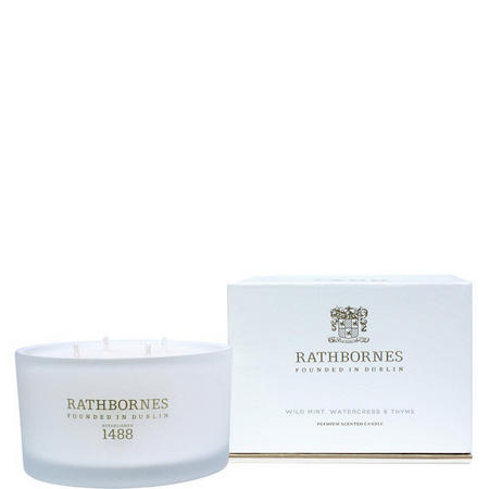 Wild Mint Watercress&Thyme Scented Luxury Candle