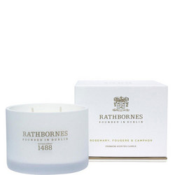 Rosemary Fougere & Ambergris Scented Classic Candle