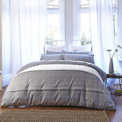 Cottonsoft Brushed Print Duvet Cover Set