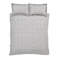 Cottonsoft Sprig Jacquard Duvet Cover Set