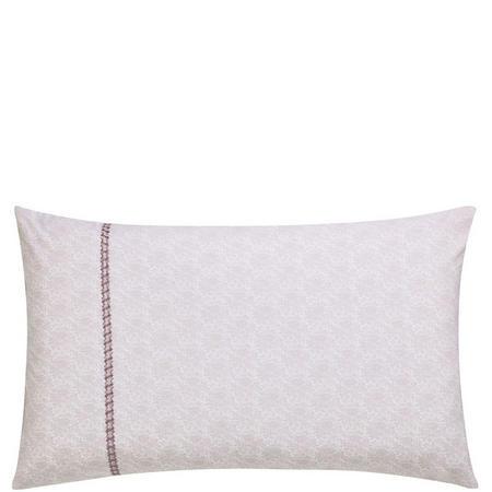 Kari Red Standard Pillowcase