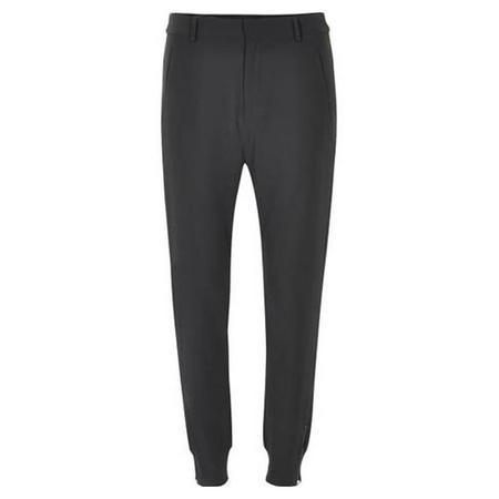 Nica Double Weave Trousers Black
