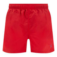 Basic Solid Swim Shorts