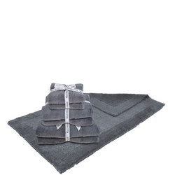 Supersoft Egyptian Bat Mat Charcoal