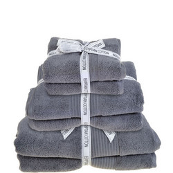 Supersoft Egyptian Towels Set Of 2 Charcoal