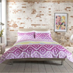 Deyong Fog Bright Duvet Set Purple