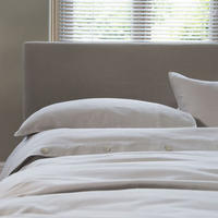 St Tropez Duvet Set Grey