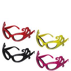Dame Edna' Onion Glasses Multicolour