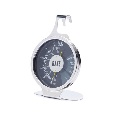 Paul Hollywood   Dual Dial Thermometer Stainless Steel