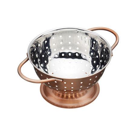 Artesa Copper Finish Mini Colander