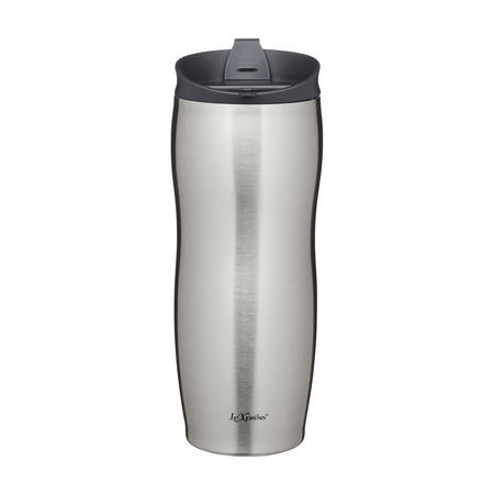 Le'Xpress Double Walled Insulated Travel Mug Stainless Steel
