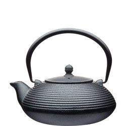 Le'Xpress 900ml Cast Iron Infuser Teapot Black