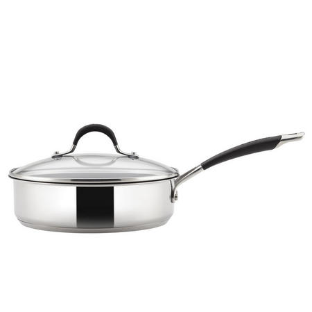 Momentum Stainless Steel 24 cm Covered Sauté