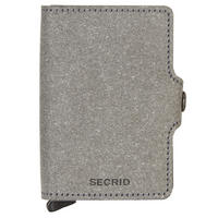 Twin Recycled Card Protector Wallet Stone