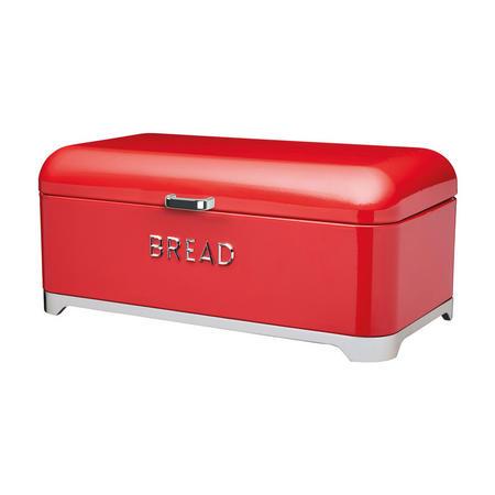 Lovello Bread Bin Red