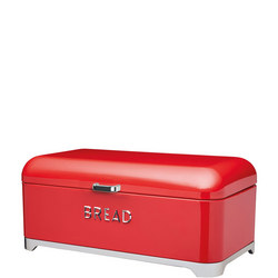 Lovello Bread Bin Red