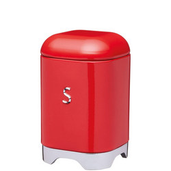 Lovello Sugar Canister Red