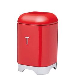 Lovello Tea Canister Red