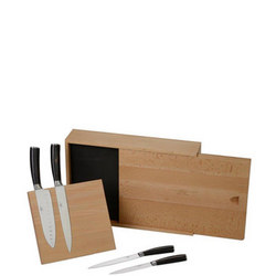 Sophie Conran Rivelin 4 Piece Kitchen Knife Block Set