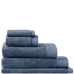 Luxury Retreat Towels Smokey Blue