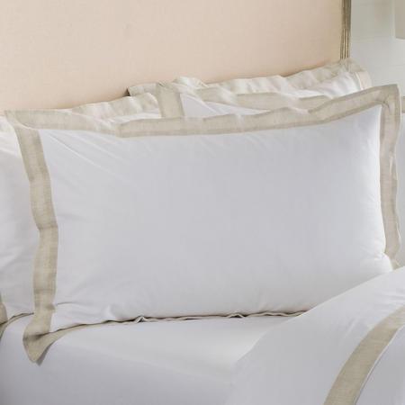 Edington Pillowcase Flax