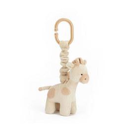 Gentle Giraffe Jitter Toy Beige