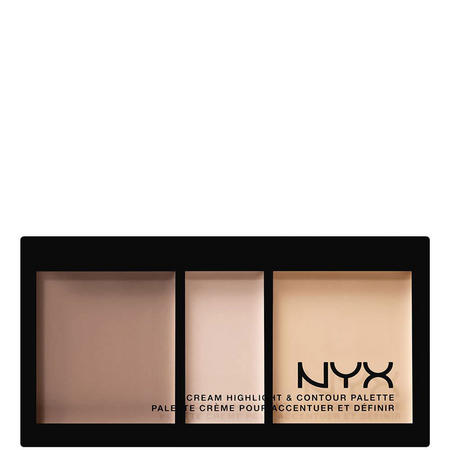 Cream Highlight And Contour Palette