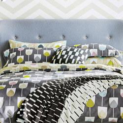 Sula Oxford Pillowcase Grey